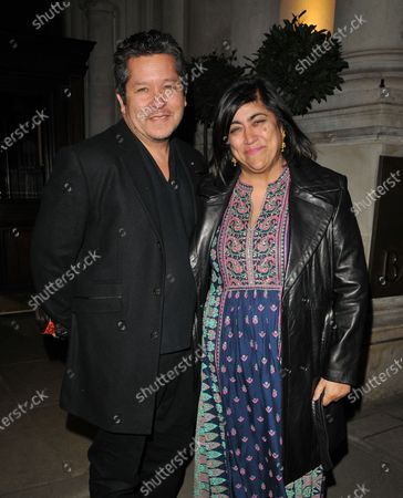 Stock Picture of Paul Mayeda Berges and Gurinder Chadha