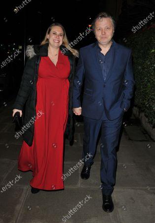 Polly Cameron and Shaun Dooley