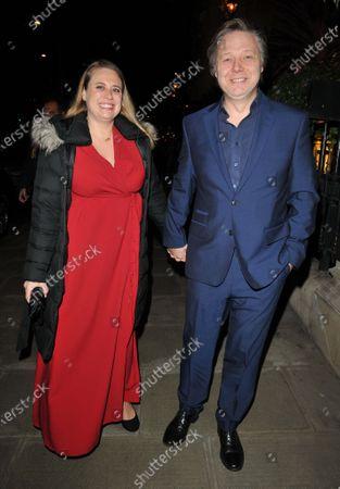 Stock Photo of Polly Cameron and Shaun Dooley