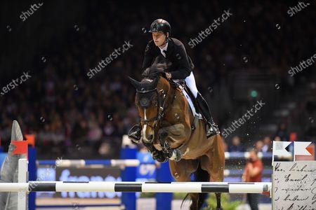 Editorial photo of Jumping International, Bordeaux, France - 07 Feb 2020