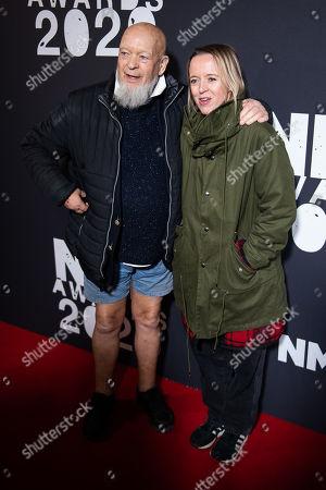 Michael Eavis and Emily Eavis