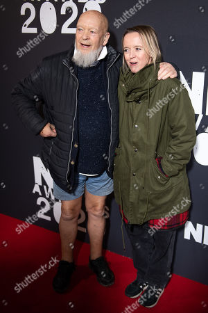Stock Picture of Michael Eavis and Emily Eavis