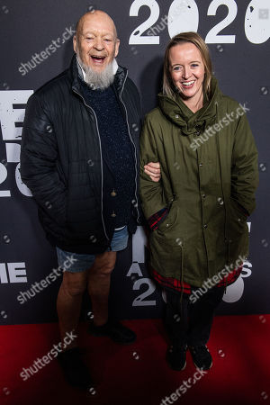 Stock Image of Michael Eavis and Emily Eavis