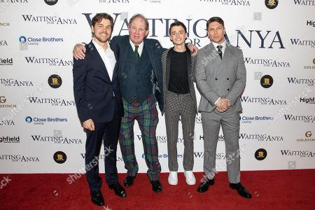 Toby Torlesse, Michael Morpurgo, Noah Schnapp and Ben Cookson