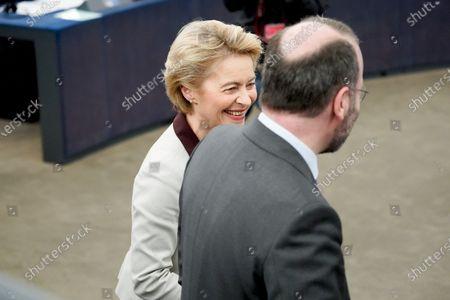 Ursula von der Leyen and Manfred Weber