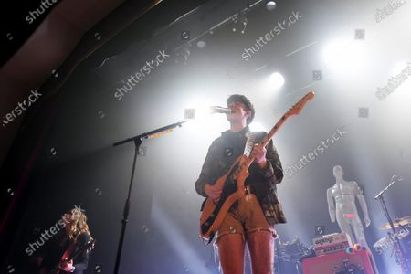 Declan Mckenna performing at the Islington Assembly Hall as part of the BRITs Week Together with O2 for War Child.