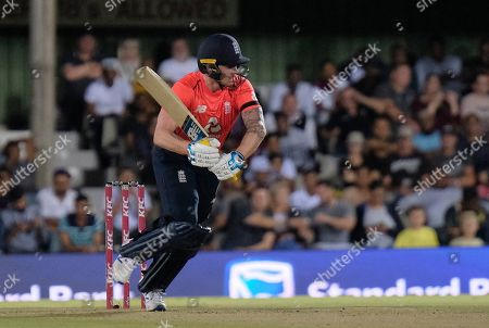 Jonathan Bairstow of England takes a single run during the T20 cricket match between South Africa and England in East London, South Africa
