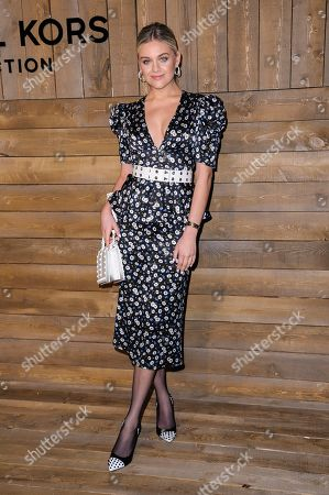 Kelsea Ballerini attends NYFW Fall/Winter 2020 - Michael Kors at The American Stock Exchange, in New York