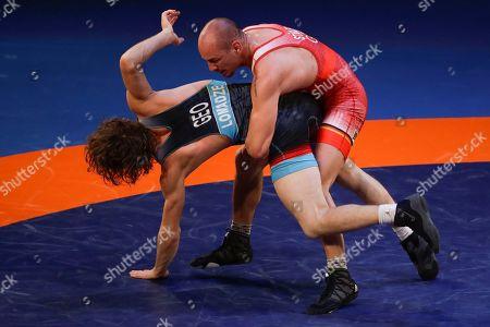 Editorial photo of European Wrestling Championships, Ostia, Italy - 12 Feb 2020