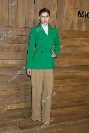 Editorial photo of Michael Kors show, Arrivals, Fall Winter 2020, New York Fashion Week, USA - 12 Feb 2020