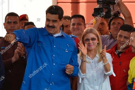 Editorial photo of Youth Day, Caracas, Venezuela - 12 Feb 2020