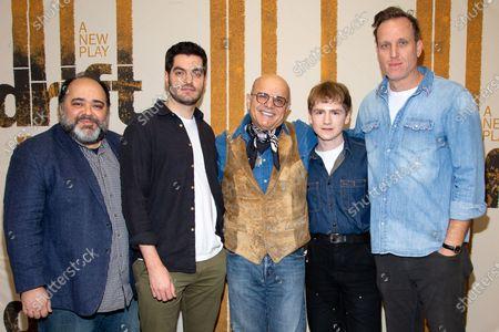 Stock Picture of Richard R. Henry, Alex Mickiewicz, Joe Pantoliano, Griffin Osborne and Patrick Brennan