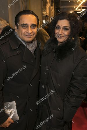 Sanjeev Bhaskar and Meera Syal