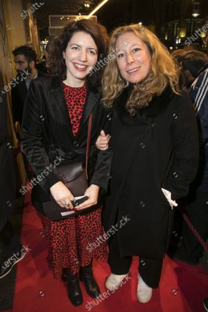 Amy Ball (Casting Director) and Nina Raine