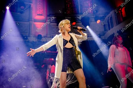 Editorial picture of Carly Rae Jepsen performs first Dutch club show ever, Amsterdam, Netherlands - 12 Feb 2020