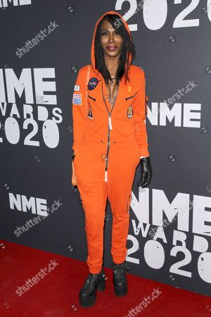 Editorial picture of NME Awards, O2 Academy Brixton, London, UK - 12 Feb 2020