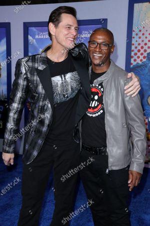 Jim Carrey and Tommy Davidson
