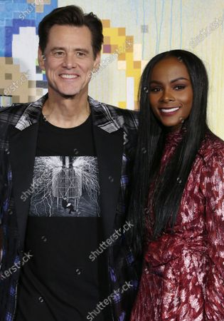 Jim Carrey and Tika Sumpter