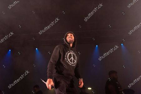 Editorial image of Kano in concert at 02 Academy, Leeds, UK - 12 Feb 2020