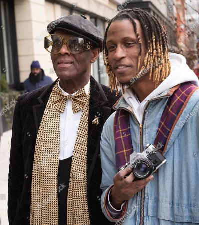 Editorial picture of Fashion Week On The Street, New York, USA - 12 Feb 2020