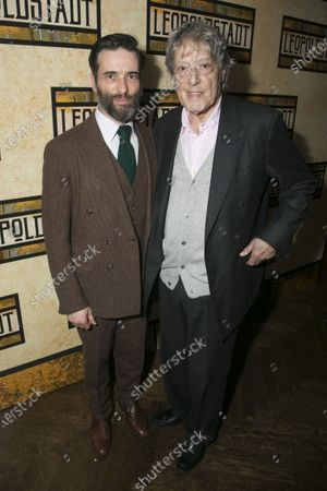 Stock Photo of Ed Stoppard (Ludwig) and Tom Stoppard (Author)