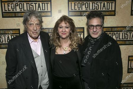 Tom Stoppard (Author), Sonia Friedman (Producer) and Patrick Marber (Director)