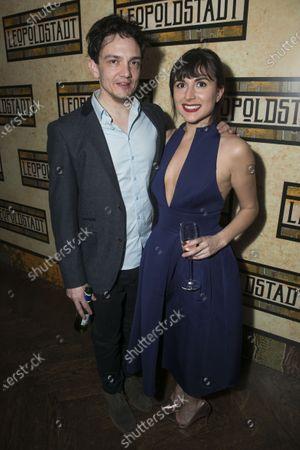 Sebastian Armesto (Jacob/Nathan) and Natalie Law (Jana)
