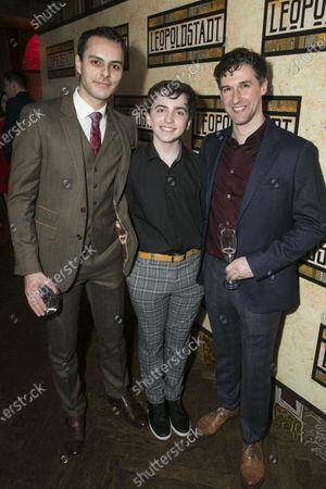 Stock Image of Noof McEwan (Otto), Rhys Bailey (Young Nathan) and Joe Coen (Policeman)