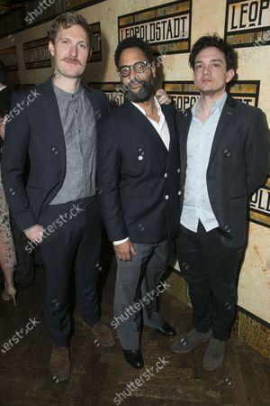 Sam Hoare (Percy Chamberlain), Alexander Newland (Kurt) and Sebastian Armesto (Jacob/Nathan)