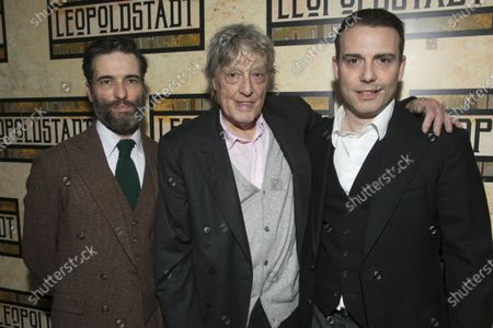 Ed Stoppard (Ludwig), Tom Stoppard (Author) and Will Stoppard