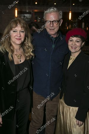 Stock Photo of Sonia Friedman (Producer), Stephen Daldry and Helen McCrory