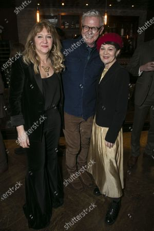 Sonia Friedman (Producer), Stephen Daldry and Helen McCrory