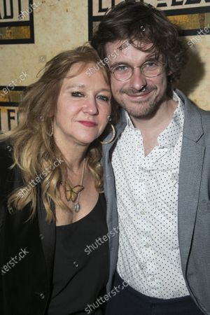 Stock Picture of Sonia Friedman (Producer) and Joe Murphy