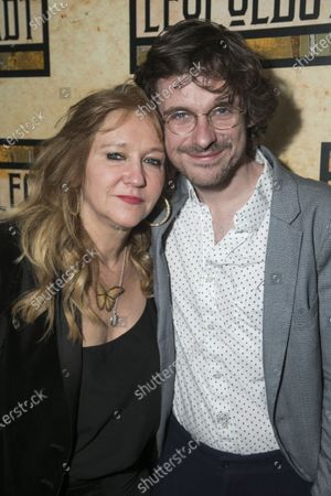 Stock Photo of Sonia Friedman (Producer) and Joe Murphy