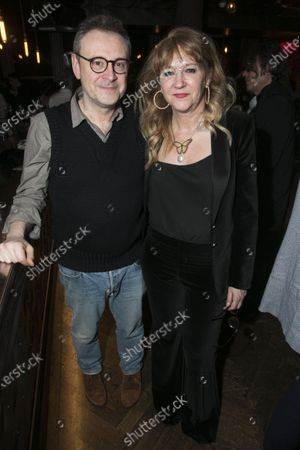 Stock Picture of Lee Hall and Sonia Friedman (Producer)