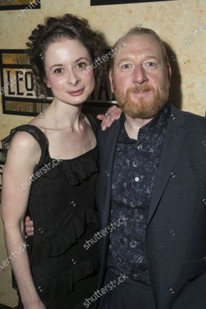 Stock Image of Faye Castelow (Gretl) and Adrian Scarborough (Hermann)