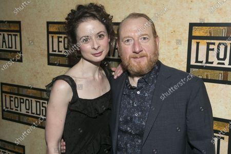 Stock Picture of Faye Castelow (Gretl) and Adrian Scarborough (Hermann)