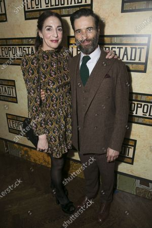 Clara Francis (Wilma) and Ed Stoppard (Ludwig)
