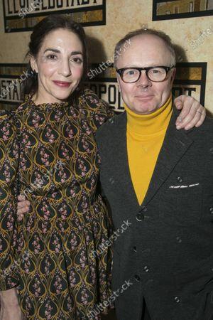 Stock Photo of Clara Francis (Wilma) and Jason Watkins