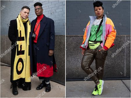 Editorial photo of Fashion Week On The Street, New York, USA - 12 Feb 2020
