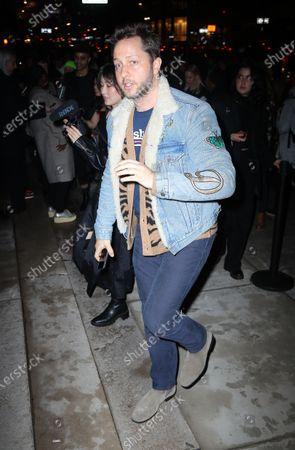 Editorial photo of Rodarte show, Arrivals, Fall Winter 2020, New York Fashion Week, USA - 11 Feb 2020