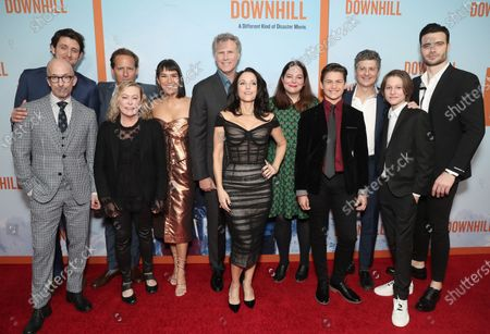 Editorial image of Searchlight Pictures 'Downhill' film premiere, Arrivals, SVA Theatre, New York, USA - 12 Feb 2020