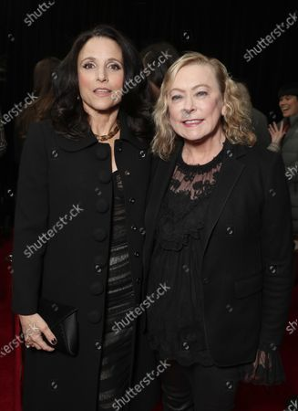 Stock Image of Julia Louis-Dreyfus and Searchlight Pictures Nancy Utley