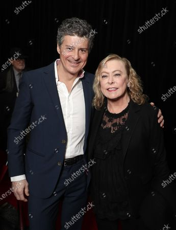 Stock Image of Producer Anthony Bregman and Searchlight Pictures Nancy Utley