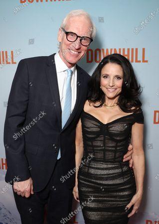Brad Hall and Julia Louis-Dreyfus
