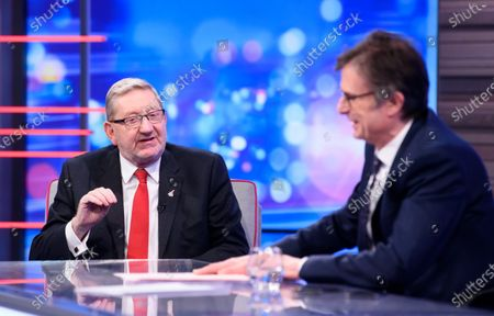 Editorial picture of 'Peston' TV show, Series 4, Episode 5, London, UK - 12 Feb 2020