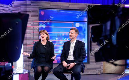 Nicky Morgan and Jeremy Hunt
