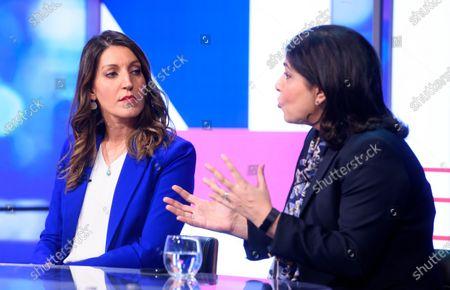 Stock Picture of Rosena Allin-Khan and Sayeeda Warsi