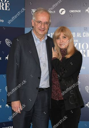 Walter Veltroni and Dori Ghezzi