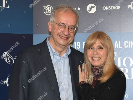 Editorial photo of 'Fabrizio De Andre & PFM - Il concerto ritrovato' film premiere, Milan, Italy - 12 Feb 2020